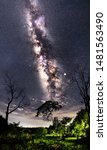 Panorama View Of Universe Space ...