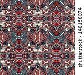 geometry vintage floral... | Shutterstock . vector #148158074
