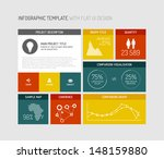 vector flat user interface  ui  ... | Shutterstock .eps vector #148159880