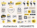 set of labels and stickers for... | Shutterstock .eps vector #1481668370