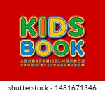 vector colorful template kids... | Shutterstock .eps vector #1481671346