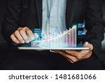 Businessman Investor Analyzing...