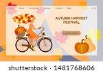 autumn harvest festival. young...