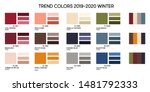 new fashion color trend winter... | Shutterstock .eps vector #1481792333