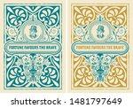 retro label design with... | Shutterstock .eps vector #1481797649