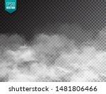 realistic fog  mist effect.... | Shutterstock .eps vector #1481806466