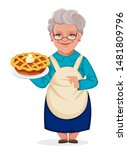 happy grandparents day.... | Shutterstock .eps vector #1481809796