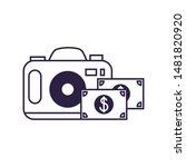 camera photographic digital... | Shutterstock .eps vector #1481820920