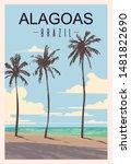 Alagoas Retro Poster. Alagoas...