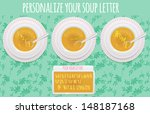 alphabet soup  do it yourself | Shutterstock .eps vector #148187168