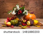 Abundance Cornucopia Fall Table ...