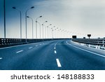 container truck on the cross... | Shutterstock . vector #148188833