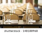 congress room is ready for... | Shutterstock . vector #148188968