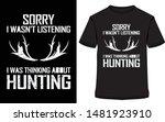 Hunting T Shirts Design  S......