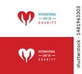 international day of charity... | Shutterstock .eps vector #1481963303