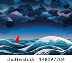 big,blue,boat,cartoon,cloud,cloudscape,cloudy,color,cruise,cumulus,danger,dark,environment,grey,heaven