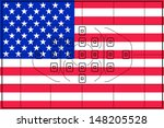 the flag of the united states... | Shutterstock . vector #148205528