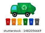 Garbage Truck And Various Type...