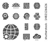 ai and iot icons set. symbols ...   Shutterstock .eps vector #1482126626