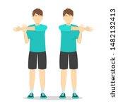 Shoulder Stretch Exercise....