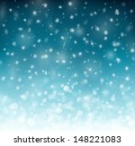 winter background with...