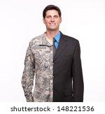 Veteran Soldier | Young man with split careers