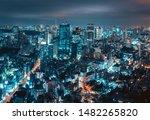 Cityscape Of Tokyo City Skylin...