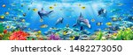 Underwater Scenery With Fish 3...