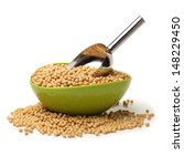 gold soybean isolated on white... | Shutterstock . vector #148229450