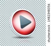 play arrow button sign... | Shutterstock .eps vector #1482348356