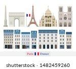 paris  france building... | Shutterstock .eps vector #1482459260