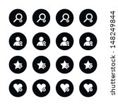 16 icon loupe  user profile ...