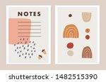 trendy set of modern journaling ... | Shutterstock .eps vector #1482515390