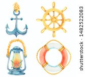 Anchor  Lifebuoy  Steering...