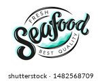 vector illustration of seafood... | Shutterstock .eps vector #1482568709