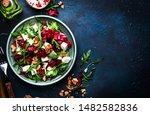 Arugula  Beet And Cheese Salad...