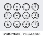 display with measurement scale... | Shutterstock .eps vector #1482666230
