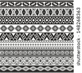 Tribal Seamless Pattern   Aztec ...