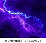 Abstract Fantasy Lightning