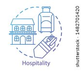 hospitality concept icon....   Shutterstock .eps vector #1482701420