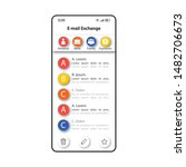e mail exchange smartphone...