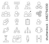 set icon in line style. a... | Shutterstock .eps vector #1482756530