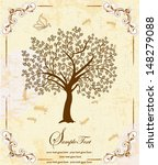 family reunion invitation card | Shutterstock .eps vector #148279088