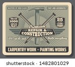 construction service and repair ... | Shutterstock .eps vector #1482801029