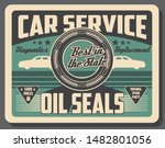 car service center vintage... | Shutterstock .eps vector #1482801056