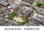 Aerial View Of Bolton Town Hall