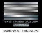 silver gray metal gradient... | Shutterstock .eps vector #1482858293