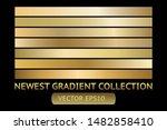 gold metal gradient scratch... | Shutterstock .eps vector #1482858410