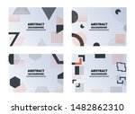 abstract smooth background... | Shutterstock .eps vector #1482862310