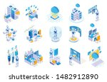 robotic process automation... | Shutterstock .eps vector #1482912890
